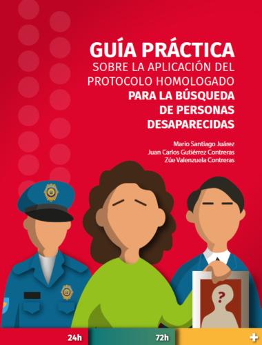 portada guía práctica sobre la aplicación del protocolo homologado para la búsqueda de personas